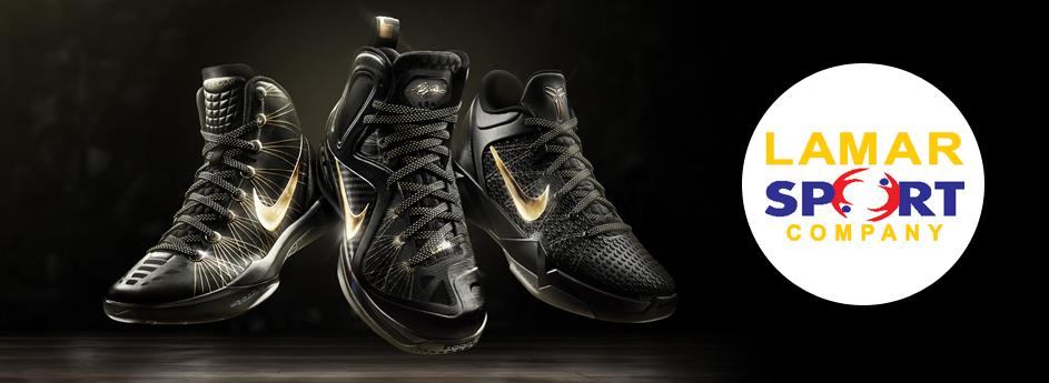 Lamar for sports products: Nike, Adidas, Puma